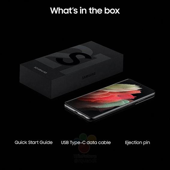 Samsung Galaxy S21 inhoud