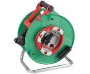 Brennenstuhl Garant IP44 Bremaxx tuin kabelhaspel met 1 contact / groen/rood - 38 + 2 meter