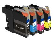SecondLife Multipack inkt cartridges voor Brother LC-123 serie
