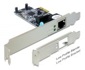 DeLOCK Gigabit PCI-Express kaart - 1x RJ45