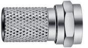 Hirschmann SFC 070 schroef F-connector / recht