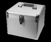 Koffer voor 10x 3,5'' HDD / zilver