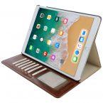 Mobiparts Excellent Tablet Book Case voor Apple iPad Air (2019) en iPad Pro 10.5 (2017) / bruin