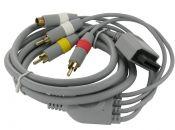 Composiet en S-VHS AV kabel voor Nintendo Wii, Wii Mini en Wii-U / grijs - 1,8 meter