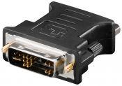 DVI-A naar VGA adapter / zwart