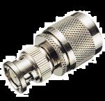 N (m) - BNC (m) adapter - 50 Ohm