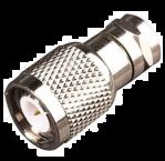 F (m) - TNC (m) adapter