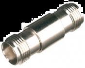 TNC (v) - TNC (v) koppelstuk - 75 Ohm