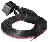 ProCar USB aansluiting met kabel - 1,5 meter