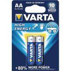 Varta AA Longlife Power batterijen - 2 stuks