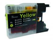 SecondLife inkt cartridge magenta voor Brother LC-1280Y XL