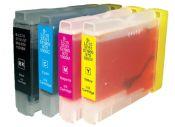 SecondLife Multipack inkt cartridges voor Brother LC-970 en LC1000 serie