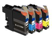 SecondLife Multipack inkt cartridges voor Brother LC-123 serie