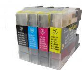 SecondLife Multipack inkt cartridges voor Brother LC-1240 serie