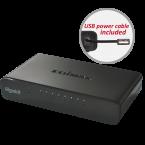 Edimax ES-5800G V3 Gigabit Ethernet Switch met 8 poorten / zwart