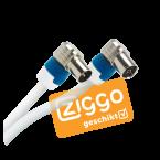 Hirschmann FEKAB 5 4G/LTE proof IEC (m) - IEC (v) coaxkabel - 5 meter