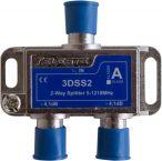 Hirschmann splitter 3DSS2 met 2 uitgangen / 4,1 dB / 5-1218 MHz