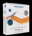 Hirschmann KOKA 799 Eca coaxkabel in doos voor binnen / wit - 100 meter