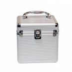 Koffer voor 4x 3,5'' HDD en 2x 2,5'' HDD/SSD / zilver