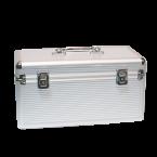 Koffer voor 8x 3,5'' HDD en 6x 2,5'' HDD/SSD / zilver
