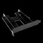 2,5'' HDD/SSD naar PCI/PCIe slot montage frame / zwart