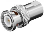 BNC (m) - FME (m) adapter - 50 Ohm
