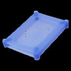 Siliconen bescherm case voor 2,5'' HDD/SSD / blauw