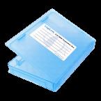 Afsluitbare bescherm box voor 2,5'' HDD/SSD / blauw
