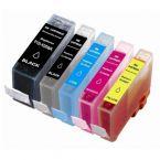 SecondLife Multipack inkt cartridges voor Canon PGI-520 en CLI-521