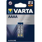 Varta AAAA batterijen - 2 stuks