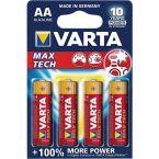Varta AA Longlife Max Power batterijen - 4 stuks