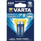 Varta AAA Longlife Power batterijen - 2 stuks