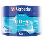 Verbatim CD-R discs op spindel - 52-speed - 700 MB / 80 minuten / 50 stuks