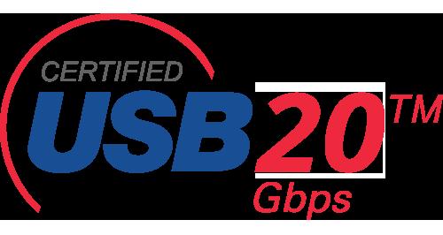 USB4 20gbit logo image