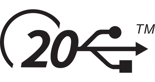 usb4 20 port en kabel logo
