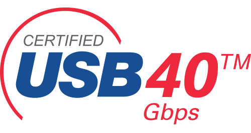 USB 4 40gbit logo image